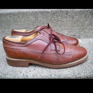Dexter Wingtips Oxfords Shoes Leather 11.5 Vintage